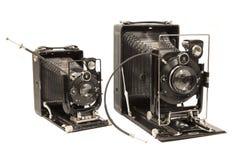 Gamla kameror arkivbild