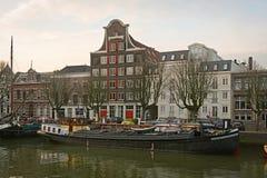Gamla kanalhus och lagret Stokholm Royaltyfria Foton