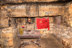 Gamla katakomber Odessa Arkivbilder