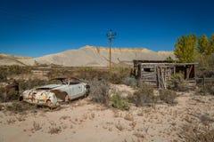 Gamla klassiska bilar och lastbilar Royaltyfria Foton