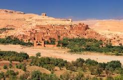 Gamla Ksar av Ait-Ben-Haddou i Marocko Royaltyfri Fotografi