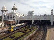 Gamla Kuala Lumpur Railway Station - Malaysia Royaltyfria Bilder