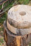 Gamla kvarnstenar för hand Royaltyfri Bild
