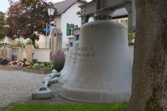 Gamla kyrkliga klockor från Seehausen Royaltyfria Foton