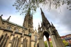 Gamla kyrkliga Toronto Royaltyfria Bilder