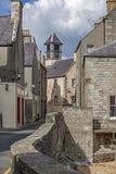 Gamla Lerwick, Shetland, Scotland-2 Royaltyfri Fotografi