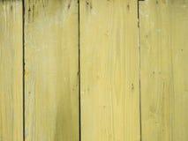Gamla målade träplankor som bakgrund Arkivfoto