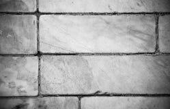 Gamla marmortegelplattor som däckar textur och detaljen Arkivfoto