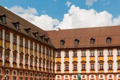 Gamla Mension i Tyskland Bayreuth Arkivfoton