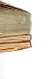 Gamla missfärgade böcker Arkivbilder