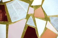 Gamla modeller för keramiska tegelplattor för vägg handcraft för design som den inomhus utomhus- trottoartrottoaren från den Thai Arkivfoton
