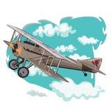 Gamla modellflygplan Royaltyfri Foto