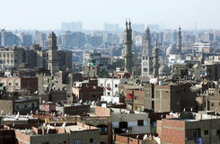 Gamla moskéer i cairo Royaltyfri Fotografi