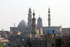 Gamla moskéer i cairo Royaltyfri Foto