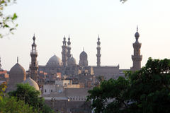 Gamla moskéer i cairo Royaltyfri Bild