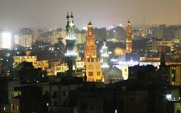 Gamla moskéer i cairo Arkivbilder