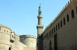 Gamla moskéer i cairo Royaltyfria Bilder