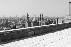Gamla moskéer i cairo Arkivfoto
