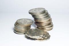 Gamla mynt av Hong Kong Royaltyfria Foton