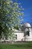 Gamla observatoriumbyggnader av det Vilnius universitetet Royaltyfria Bilder