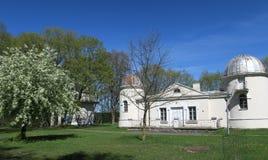 Gamla observatoriumbyggnader av det Vilnius universitetet Royaltyfri Bild