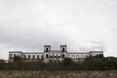 Gamla och övergav slottar arkivfoto