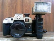 Gamla Olympia Camera (färg) Royaltyfri Fotografi