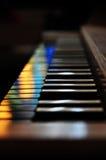 Gamla organ i en kyrka Royaltyfri Fotografi