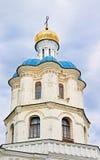 Gamla ortodoxa helgon för domkyrka allra i den historiska staden Chernigov Arkivbilder