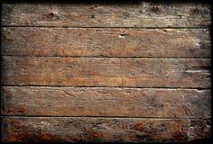 Gamla paneler för Wood bakgrund Royaltyfri Foto
