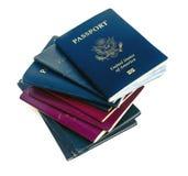 Gamla pass Royaltyfri Bild