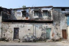 Gamla Penang hus Arkivbild