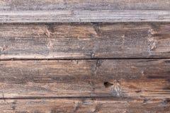 Gamla plankor med en distinkt wood struktur royaltyfria foton