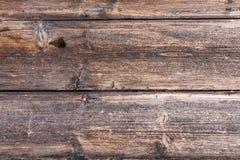 Gamla plankor med en distinkt wood struktur arkivfoton