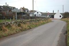 Gamla Portlethen, Aberdeenshire Royaltyfri Fotografi