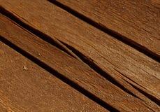 gamla red ut wood plankor med suddighetseffekt Arkivbilder
