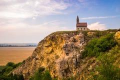 Gamla Roman Church i Drazovce, Slovakien Royaltyfria Foton