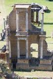 Gamla Romans Theater i Volterra royaltyfri fotografi