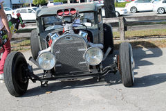 Gamla Rusty Rat Rod Royaltyfria Bilder