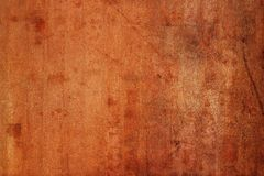 Gamla Rusty Sheet Textured Metal Background Royaltyfria Foton