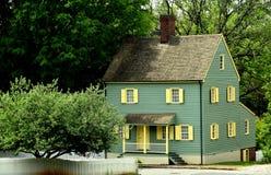 Gamla Salem, NC: kolonialt hus för 18th århundrade Royaltyfri Bild