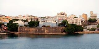 Gamla San Juan Fotografering för Bildbyråer