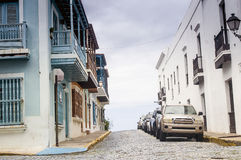 Gamla San Juan, Puerto Rico Arkivfoto