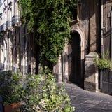 Gamla sicilian hus Royaltyfri Foto