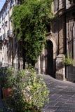 Gamla sicilian hus Arkivbild