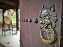 Gamla slottar i Kina arkivfoto
