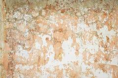 Gamla spruckna väggar för bakgrund av byggnaden - utrymme för text eller bild Royaltyfri Foto