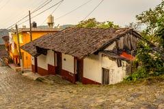 Gamla städer av Mexico Arkivfoton