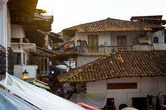 Gamla städer av Mexico Royaltyfria Bilder