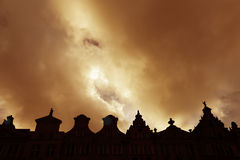 Gamla stadtakformer, Gdansk, Polen Royaltyfria Bilder